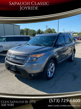 2013 Ford Explorer for sale at Sapaugh Classic Joyride in Salem MO