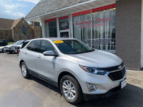 2019 Chevrolet Equinox for sale at KUHLMAN MOTORS in Maquoketa IA