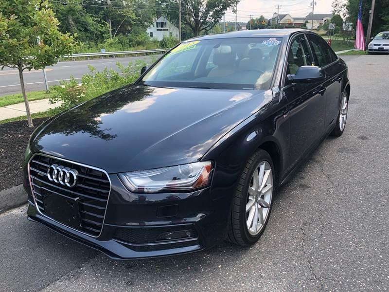 2015 Audi A4 for sale at TOLLAND CITGO AUTO SALES in Tolland CT