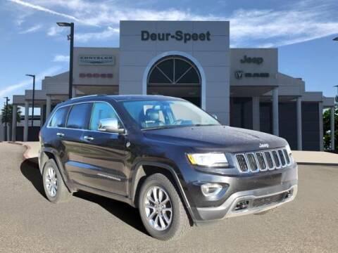 2015 Jeep Grand Cherokee for sale at DEUR-SPEET MOTORS in Fremont MI