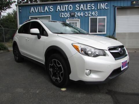 2013 Subaru XV Crosstrek for sale at Avilas Auto Sales Inc in Burien WA
