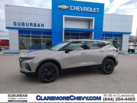 2021 Chevrolet Blazer for sale at Suburban Chevrolet in Claremore OK