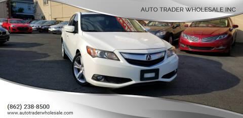 2013 Acura ILX for sale at Auto Trader Wholesale Inc in Saddle Brook NJ