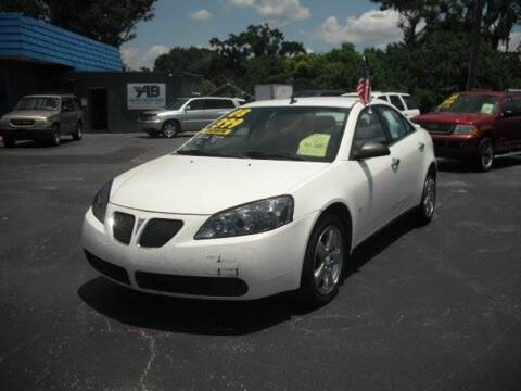2008 Pontiac G6 for sale at AUTO BROKERS OF ORLANDO in Orlando FL