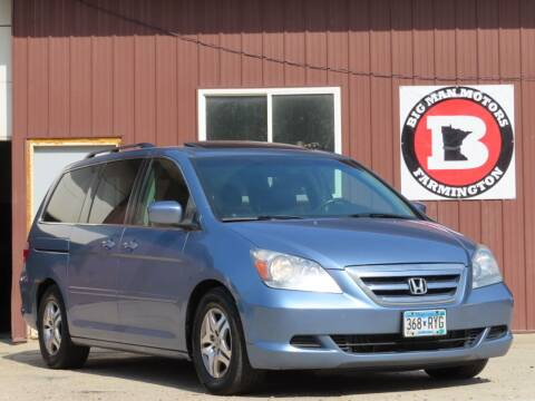 2005 Honda Odyssey for sale at Big Man Motors in Farmington MN