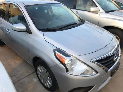 2016 Nissan Versa for sale at Best Royal Car Sales in Dallas TX