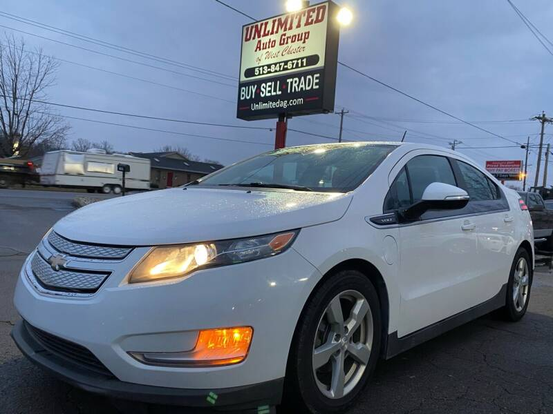 2015 Chevrolet Volt for sale at Unlimited Auto Group in West Chester OH