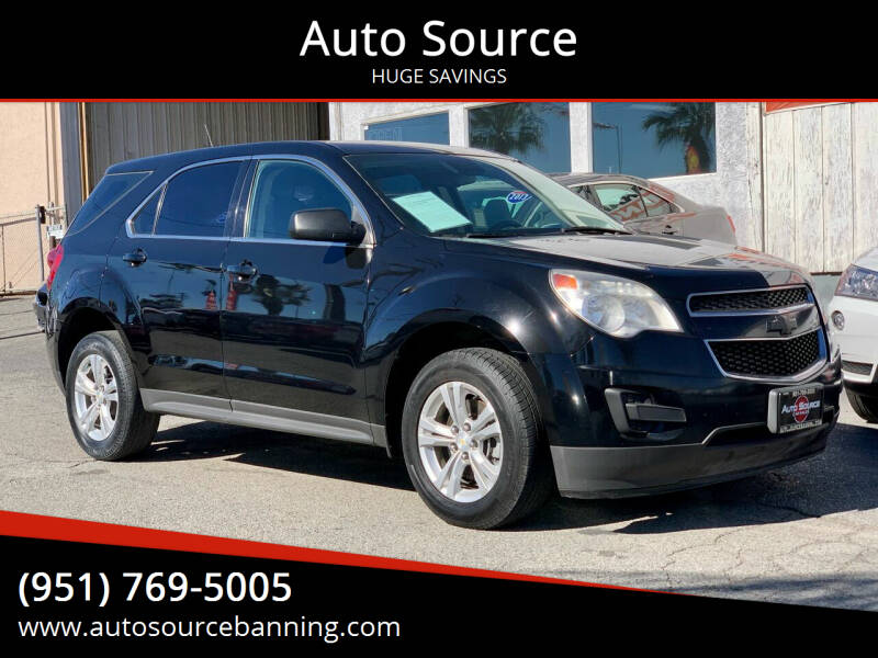 2014 Chevrolet Equinox for sale at Auto Source in Banning CA