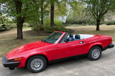 1981 Triumph TR7 for sale at Action Automotive Service LLC in Hudson NY