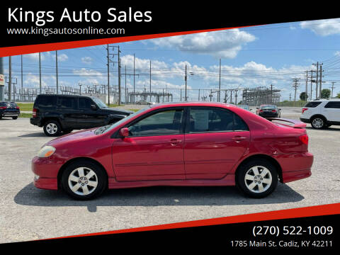 2004 Toyota Corolla for sale at Kings Auto Sales in Cadiz KY