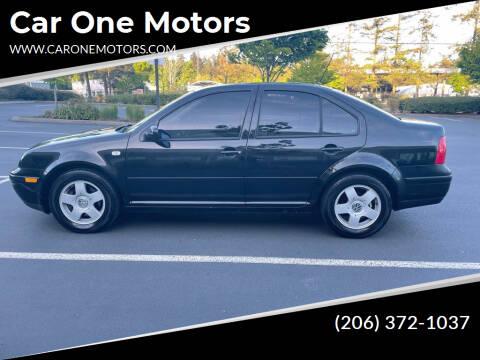 2000 Volkswagen Jetta for sale at Car One Motors in Seattle WA