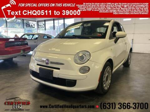 2012 FIAT 500 for sale at CERTIFIED HEADQUARTERS in St James NY