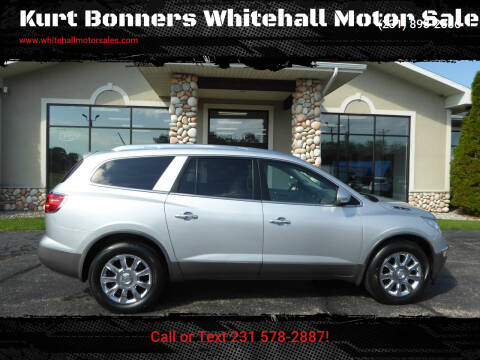 2012 Buick Enclave for sale at Kurt Bonners Whitehall Motor Sales in Whitehall MI