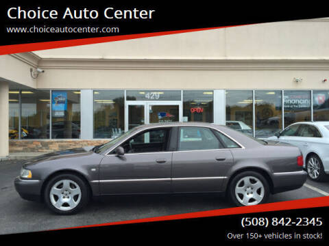 2000 Audi A8 for sale at Choice Auto Center in Shrewsbury MA
