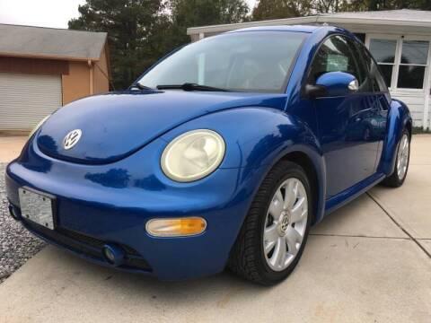 2003 Volkswagen New Beetle for sale at Efficiency Auto Buyers in Milton GA