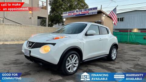 2013 Nissan JUKE for sale at San Diego Auto Traders in San Diego CA