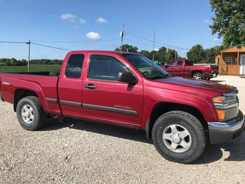 2004 GMC Canyon for sale at CMC AUTOMOTIVE in Roann IN