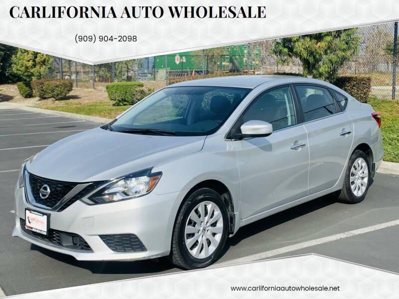 2019 Nissan Sentra for sale at CARLIFORNIA AUTO WHOLESALE in San Bernardino CA