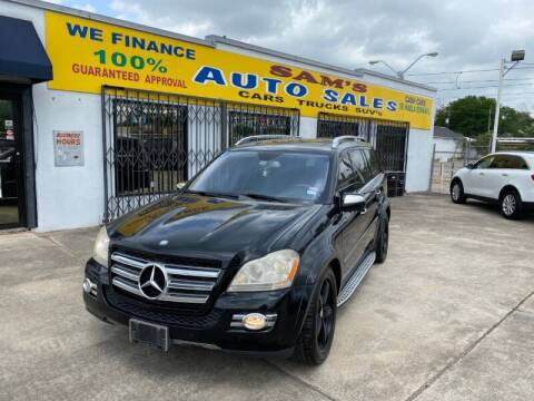 2009 Mercedes-Benz GL-Class for sale at Sam's Auto Sales in Houston TX