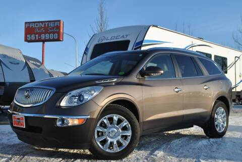 2011 Buick Enclave for sale at Frontier Auto & RV Sales in Anchorage AK