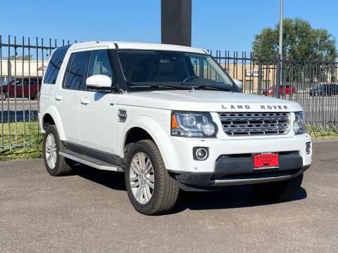 2016 Land Rover LR4 for sale at Avanesyan Motors in Orem UT