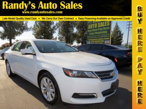 2018 Chevrolet Impala for sale at Randy's Auto Sales in Ontario CA