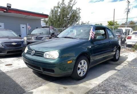 2002 Volkswagen Cabrio for sale at Goval Auto Sales in Pompano Beach FL