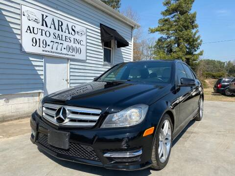 2013 Mercedes-Benz C-Class for sale at Karas Auto Sales Inc. in Sanford NC