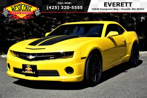 2012 Chevrolet Camaro for sale at West Coast Auto Works in Edmonds WA