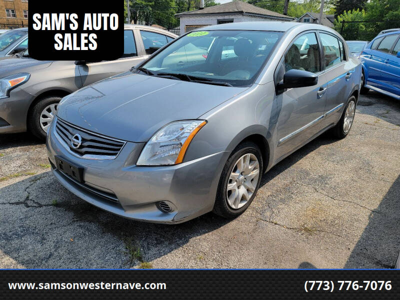 2011 Nissan Sentra for sale at SAM'S AUTO SALES in Chicago IL