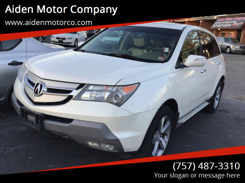 2009 Acura MDX for sale at Aiden Motor Company in Portsmouth VA