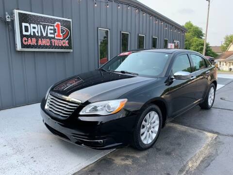 2014 Chrysler 200 for sale at Drive 1 Car & Truck in Springfield OH