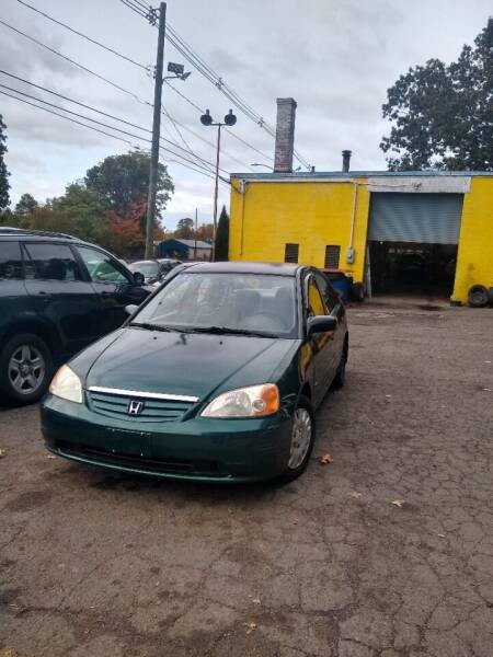2001 Honda Civic for sale at Cheap Auto Rental llc in Wallingford CT