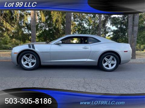 2010 Chevrolet Camaro for sale at LOT 99 LLC in Milwaukie OR