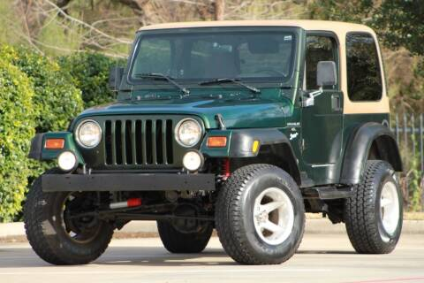1997 Jeep Wrangler for sale at Texas Select Autos LLC in Mckinney TX