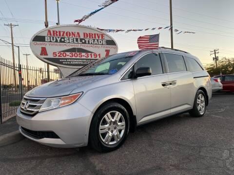 2013 Honda Odyssey for sale at Arizona Drive LLC in Tucson AZ