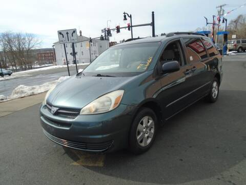 2004 Toyota Sienna for sale at Broadway Auto Services in New Britain CT