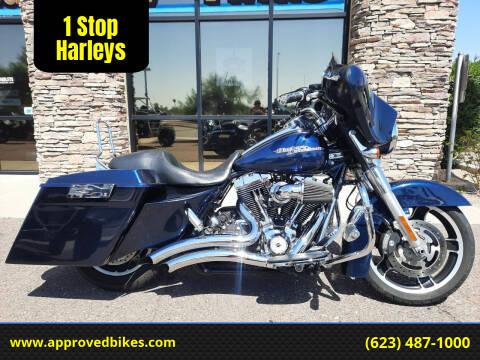 2012 Harley-Davidson Street Glide FLHX for sale at 1 Stop Harleys in Peoria AZ