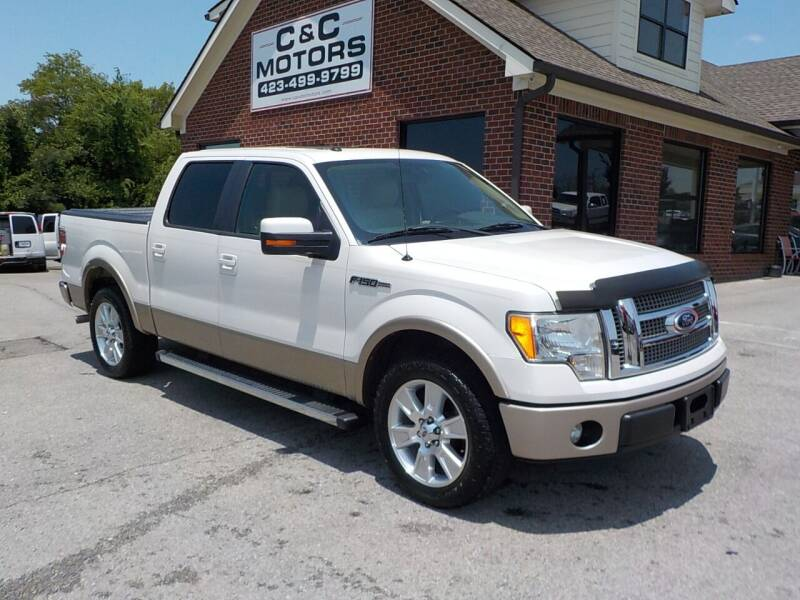 2012 Ford F-150 for sale at C & C MOTORS in Chattanooga TN