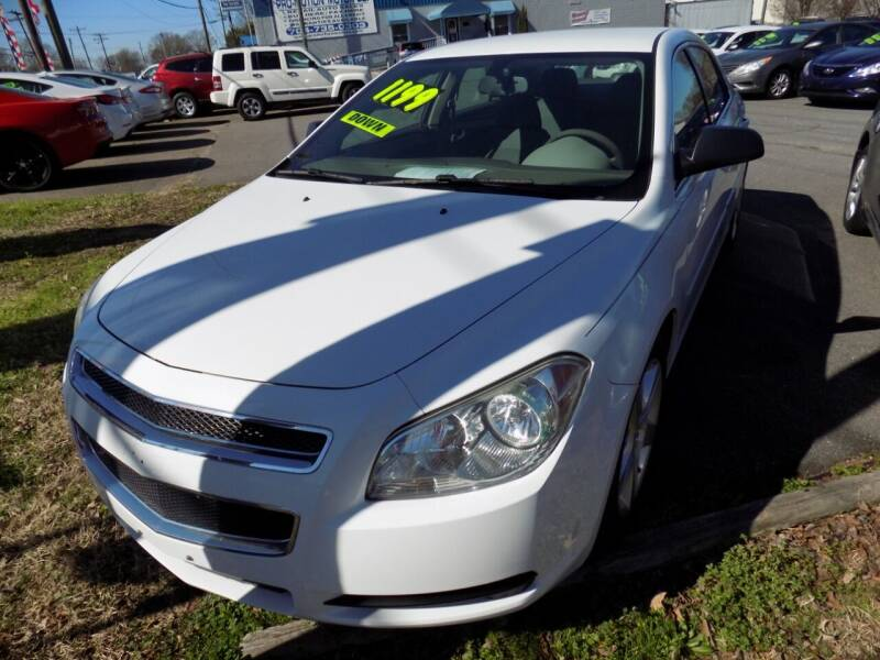 2012 Chevrolet Malibu for sale at Pro-Motion Motor Co in Lincolnton NC