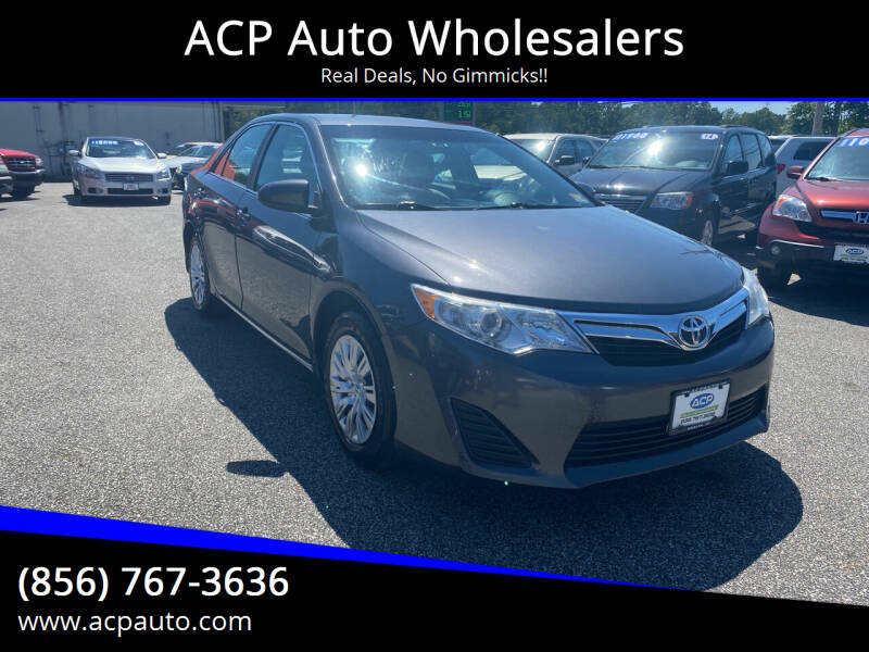 2012 Toyota Camry for sale at ACP Auto Wholesalers in Berlin NJ