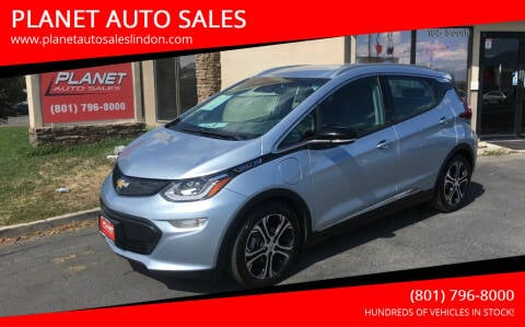 2017 Chevrolet Bolt EV for sale at PLANET AUTO SALES in Lindon UT