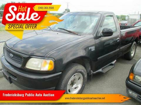 1998 Ford F-150 for sale at FPAA in Fredericksburg VA