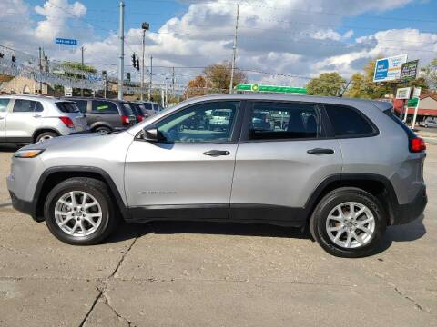2017 Jeep Cherokee for sale at Bob Boruff Auto Sales in Kokomo IN