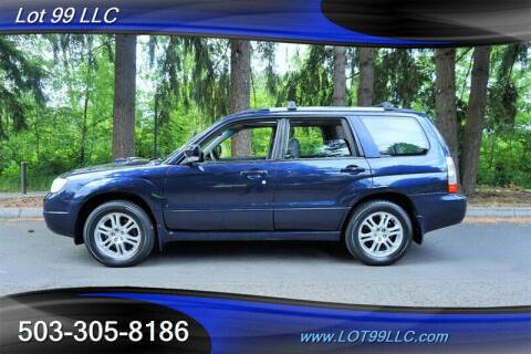 2006 Subaru Forester for sale at LOT 99 LLC in Milwaukie OR