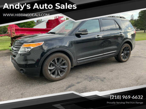 2012 Ford Explorer for sale at Andy's Auto Sales in Hibbing MN