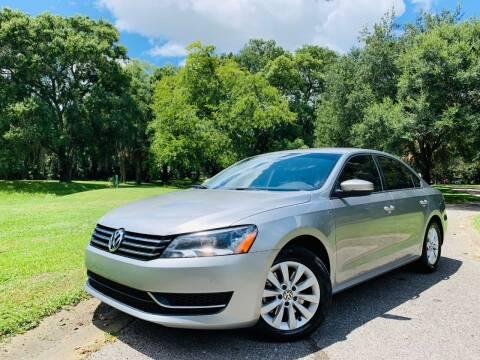 2014 Volkswagen Passat for sale at FLORIDA MIDO MOTORS INC in Tampa FL