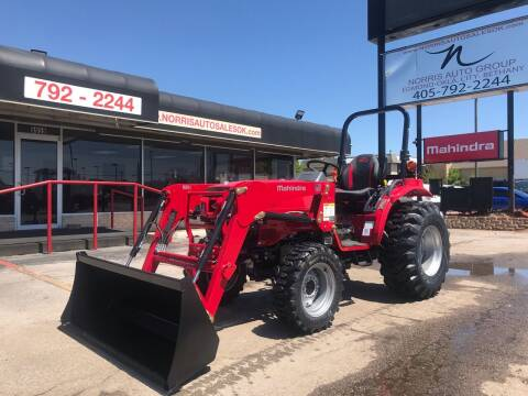 2021 Mahindra 16264WDShuttlewithLoader for sale at NORRIS AUTO SALES in Oklahoma City OK