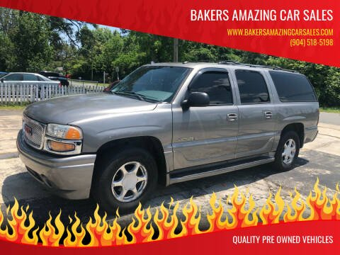 2005 GMC Yukon XL for sale at Bakers Amazing Car Sales in Jacksonville FL