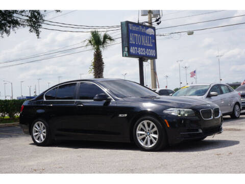 2014 BMW 5 Series for sale at Winter Park Auto Mall in Orlando FL